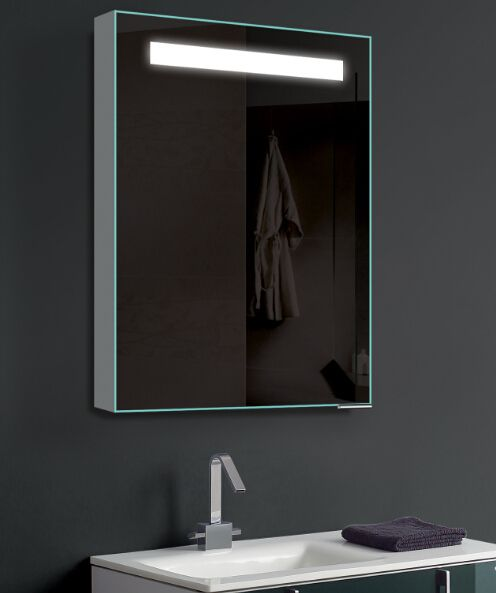Bathroom Lighting Europe europe design bathroom led lighted backlit aluminum mirror