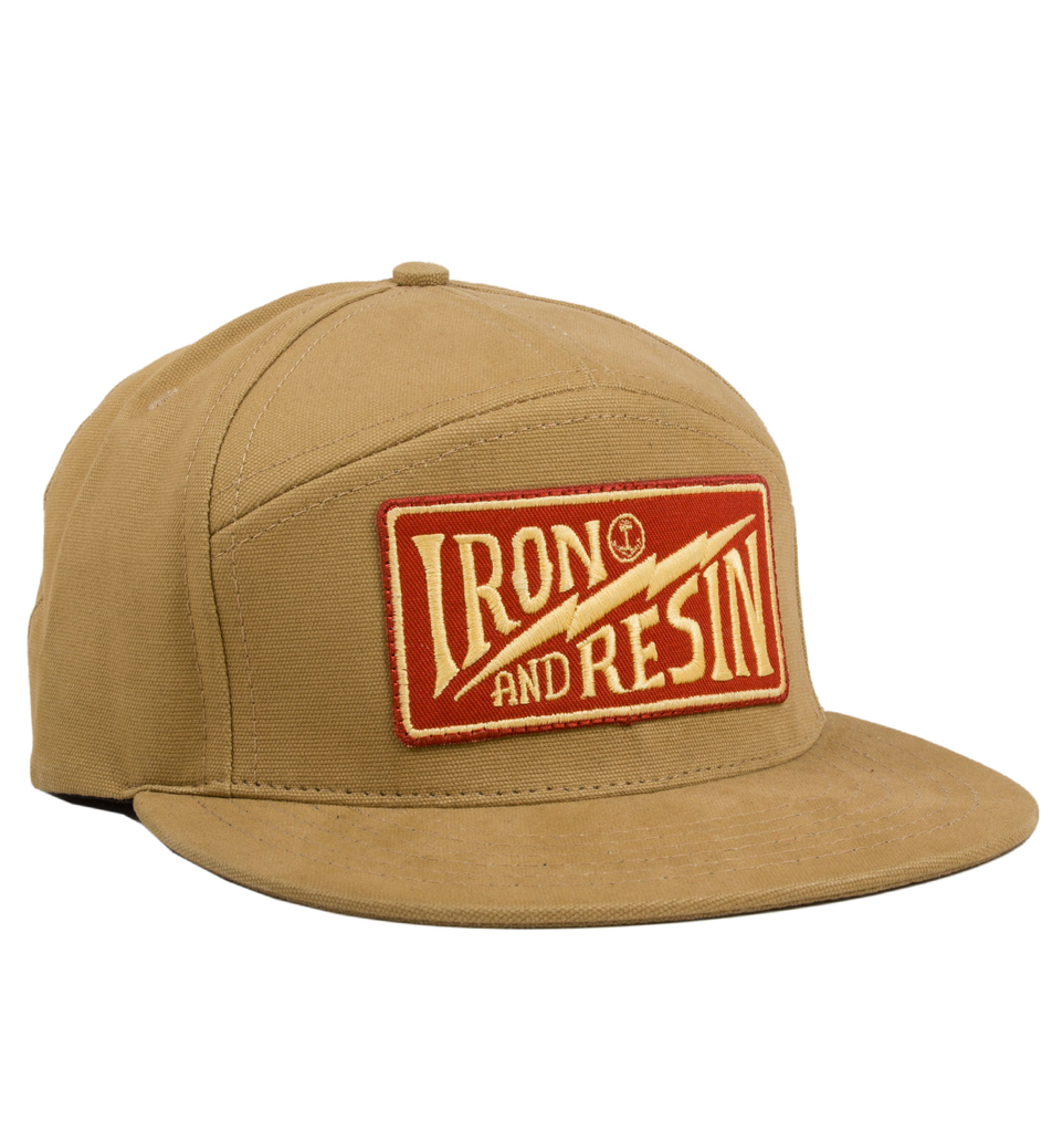 Journeyman Hat Iron And Resin Swag Hats Hats Cool Hats