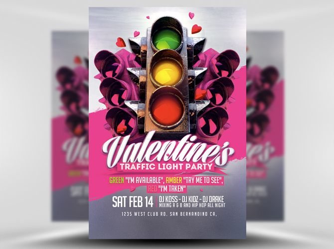 IVe Already Pinned One Of Our Traffic Light Event Themed Flyers