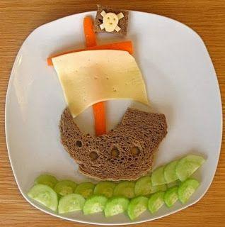 Desayunos Para Niños Con Figuras Divertidas Cositasconmesh Food Humor Food Edible Food