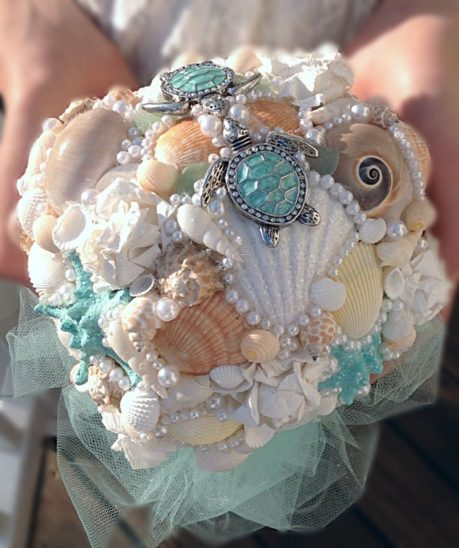 Beach Wedding Flower Ideas: 75 Creative DIY Bridal Bouquet Ideas