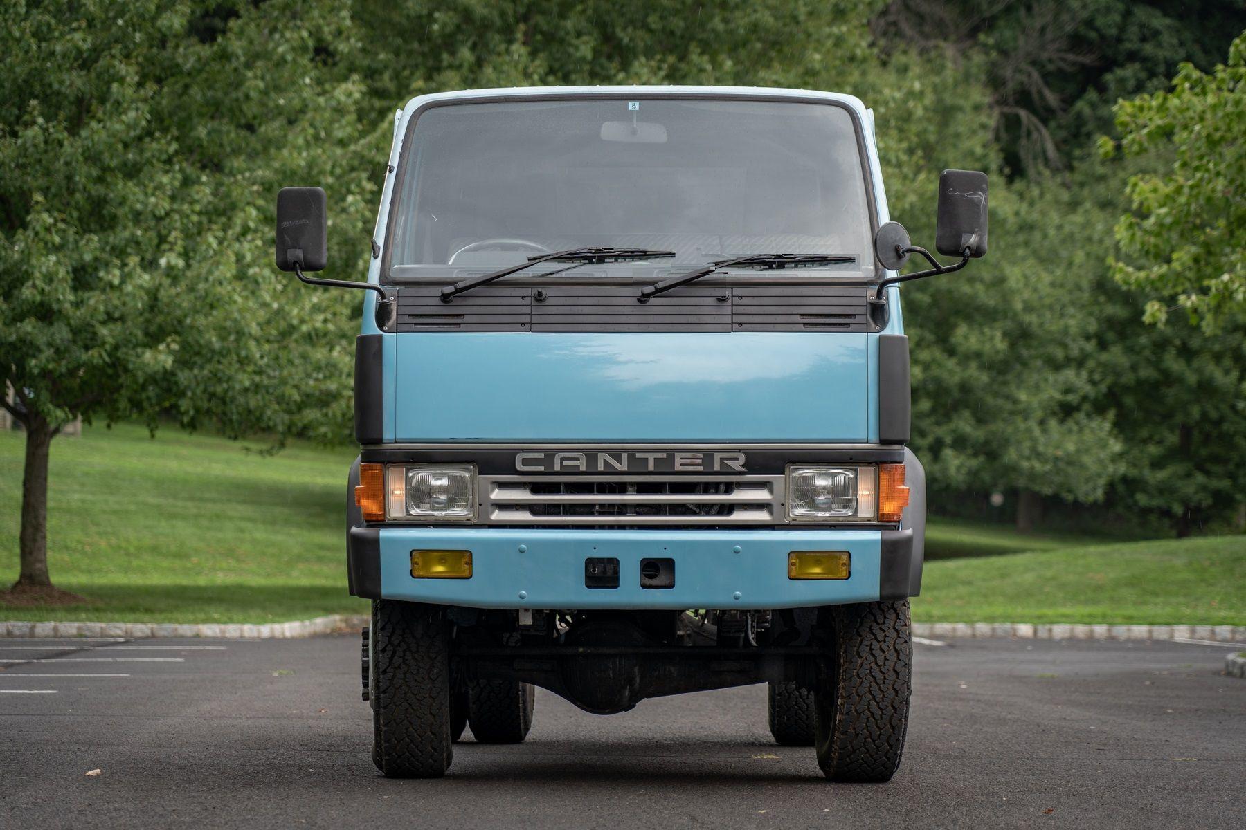 1991 Mitsubishi Fuso Canter Crew Cab 4WD Mitsubishi