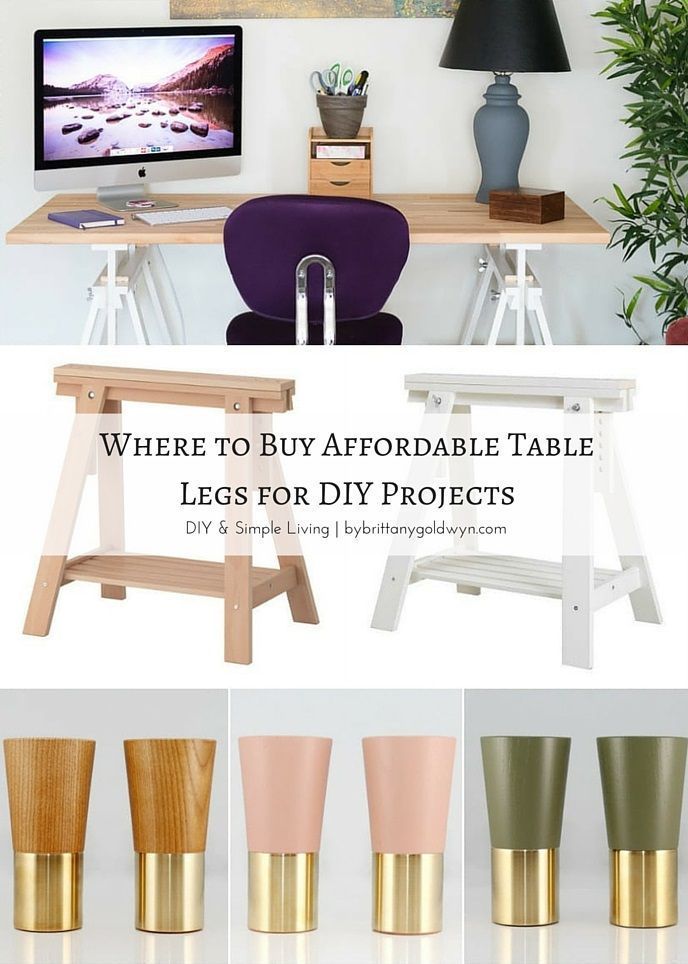 Bon Check Out These Five Great Places To Buy Affordable Table Legs For Your DIY  Projects!
