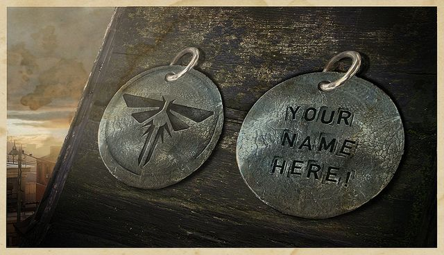 The last of us firefly pendant just because 2014 the last of us firefly pendant with name and birthday as aloadofball Choice Image
