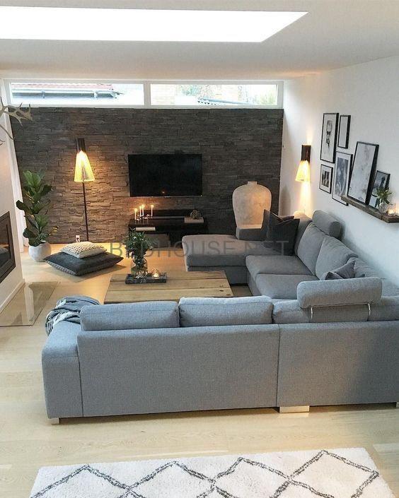 bed house decoration salon moderne