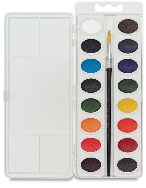 Crayola Educational Watercolor Pan Sets Watercolor Pans