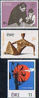 Eire Ireland 1979 Commemorations Set SG 450/2 Fine Mint Scott 457/9 Other European and British Commonwealth Stamps HERE!