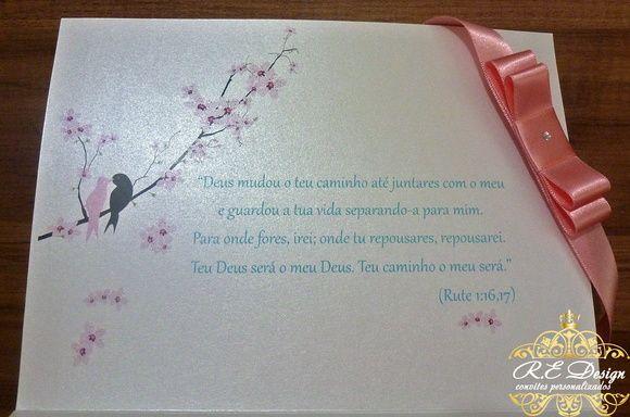 Convite de Casamento - Coleção Royal
