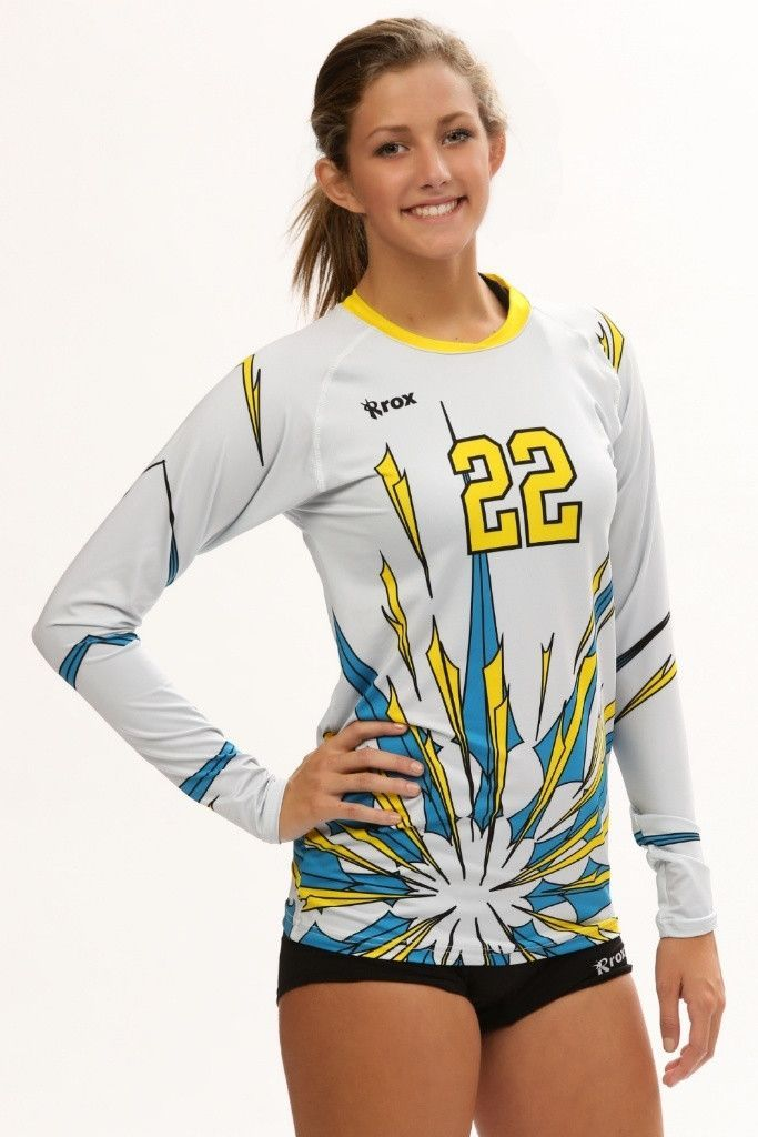 Roxamation Pow Sublimated Jersey Volleyball Jersey Design Volleyball Outfits Volleyball Jerseys