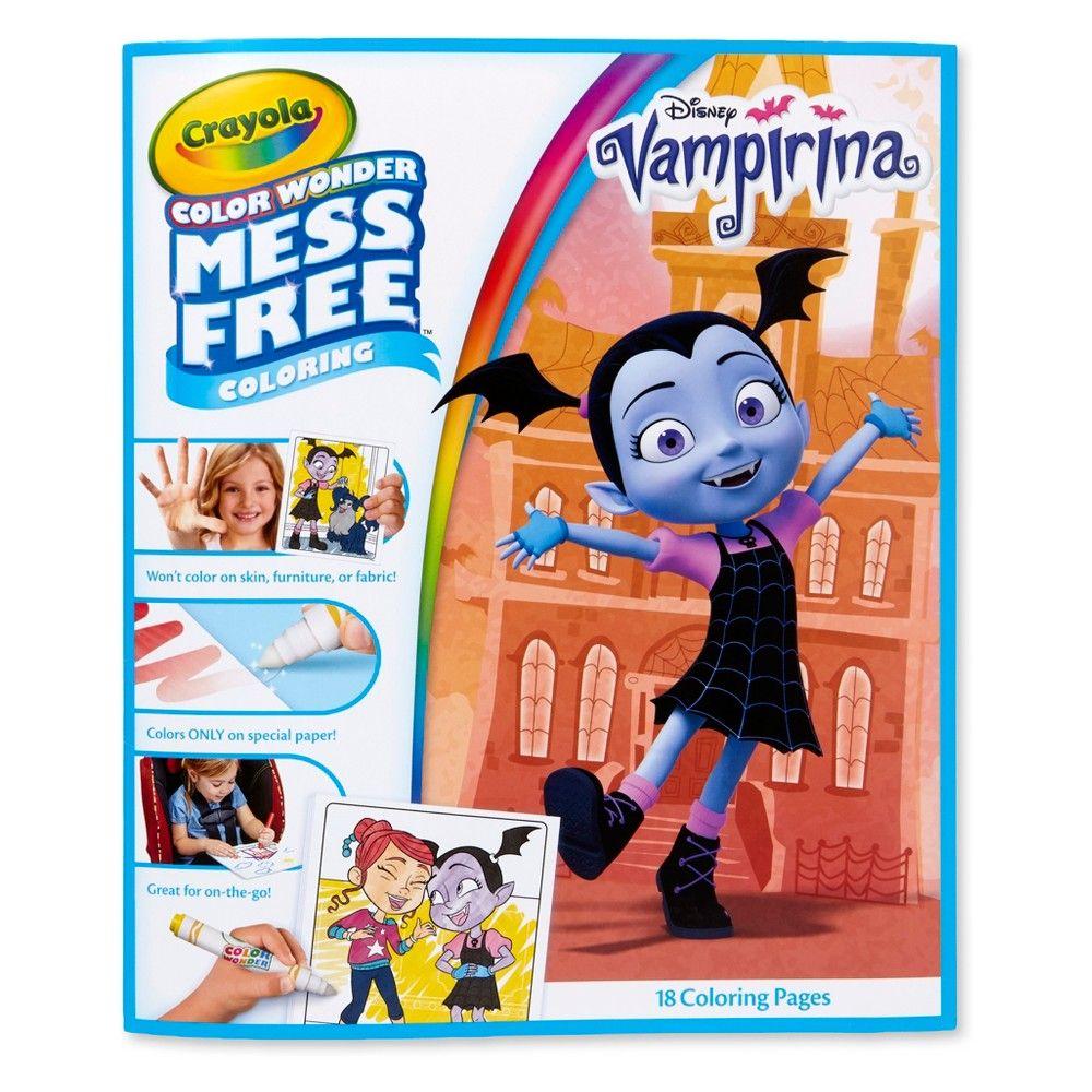 Crayola 18pg Color Wonder Vampirina Mess Free Coloring Book ...