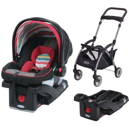 Graco SnugRide Click Connect 30 LX Infant Car Seat with Front Adjust ...