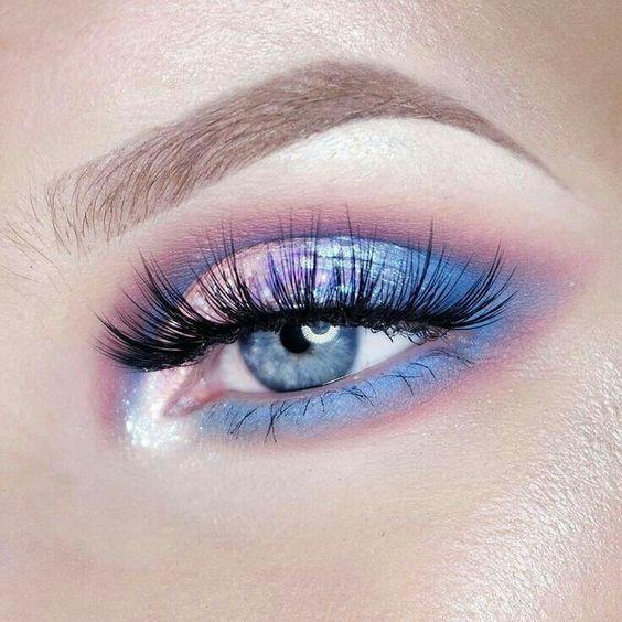 34 Make-up-Ideen zum Leuchten blauer Augen : 34 Make-up-Ideen zum Leuchten blauer Augen,  #Augen #bl