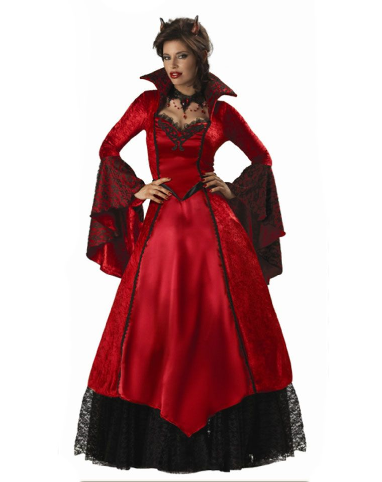4a4fd91fcf Theatrical Quality Devils Temptress Adult Womens Costume | Halloween ...