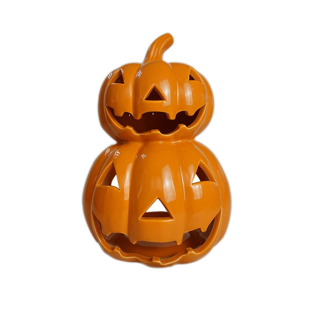 Get The Orange Ceramic Jack O Lantern Candle Holder By Ashland At Michaels Com If You Are Not S Pumpkin Candle Holder Candle Lanterns Lantern Candle Holders