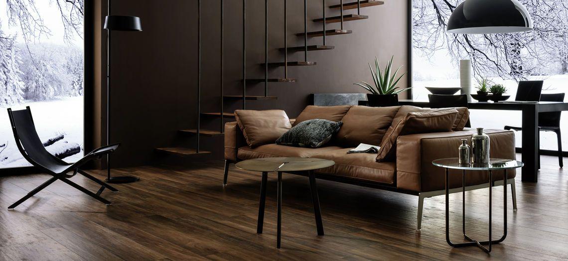 Treverkchic - carreaux de sol en céramique effet bois Merrazi wood effect floor tiles