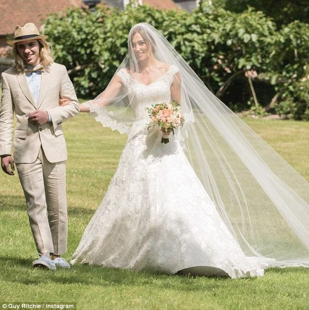 Newlyweds Guy Ritchie And Jacqui Ainsley Share Photos From