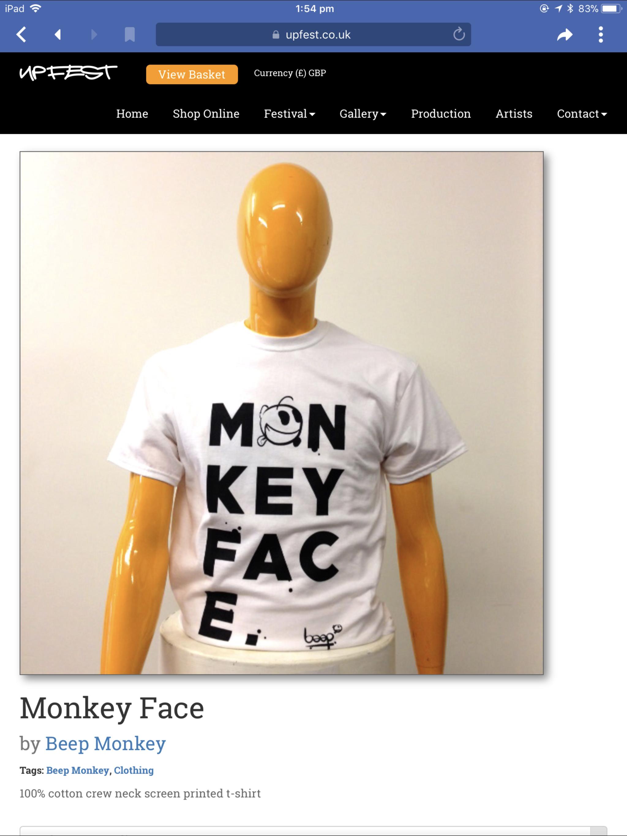 Beep monkey @ regency gallery and framing Cheltenham. https://www ...