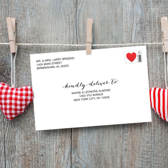 A Envelope Templates For  X  Cards Invitations Response Card