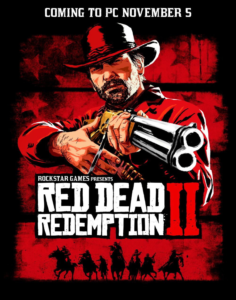 Red Dead Redemption 2 Coming To Pc November 5th Rockstar Games In 2020 Red Dead Redemption Red Dead Redemption Ii Red Dead Online