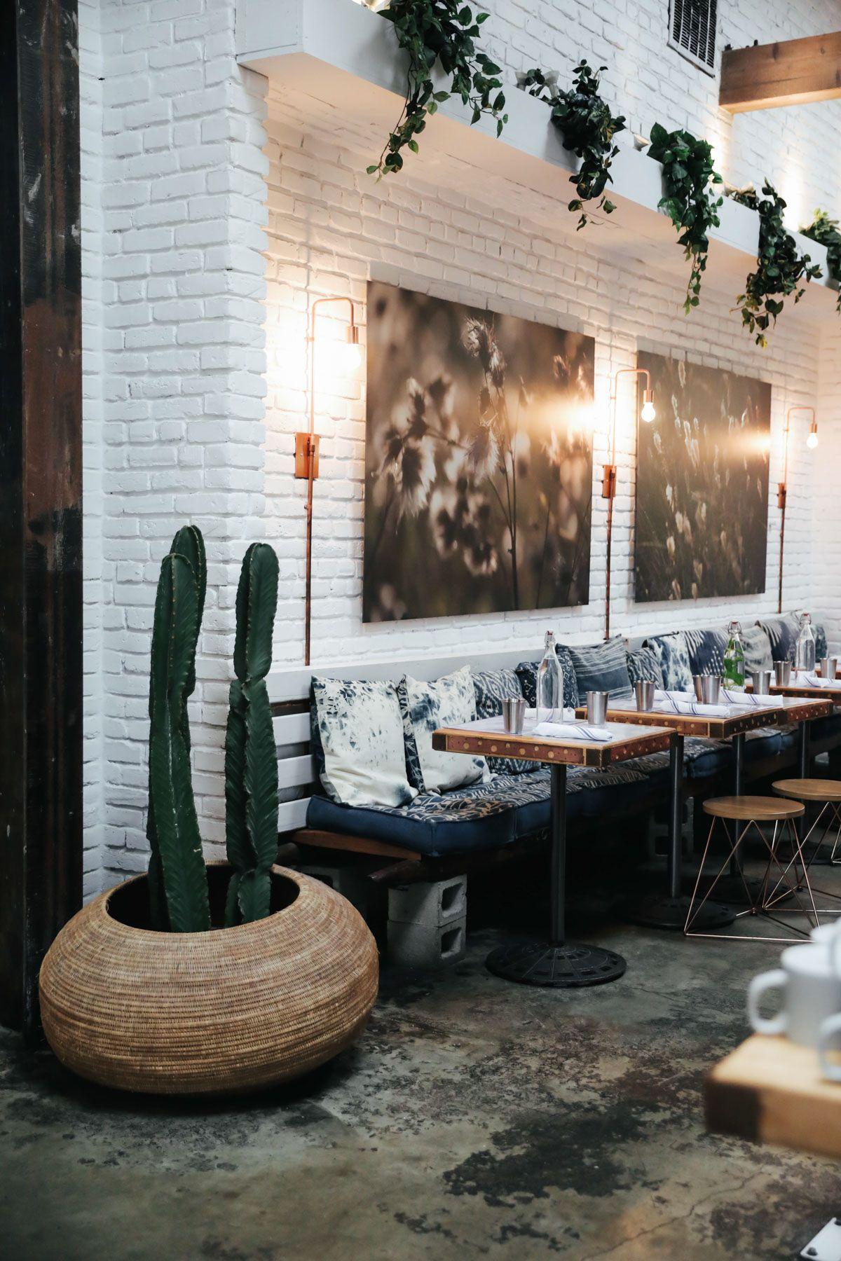 My Favorite Instagram Worthy Spots In L A Restaurant Design Cafe Decor Restaurant Decor