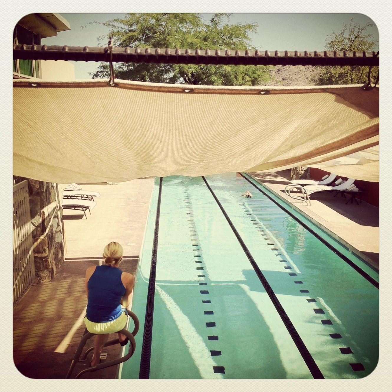 Luxury Spas In Scottsdale Az Sanctuary Camelback Mountain Resort Private Swim Lessons Lap Pool Swim Lessons