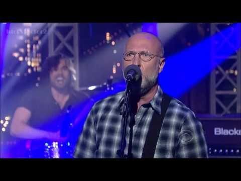 Bob Mould - The Descent - David Letterman  9-4-12