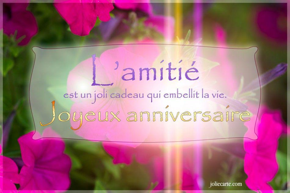 L Amitie Est Un Joli Cadeau Qui Embellit La Vie Joyeux