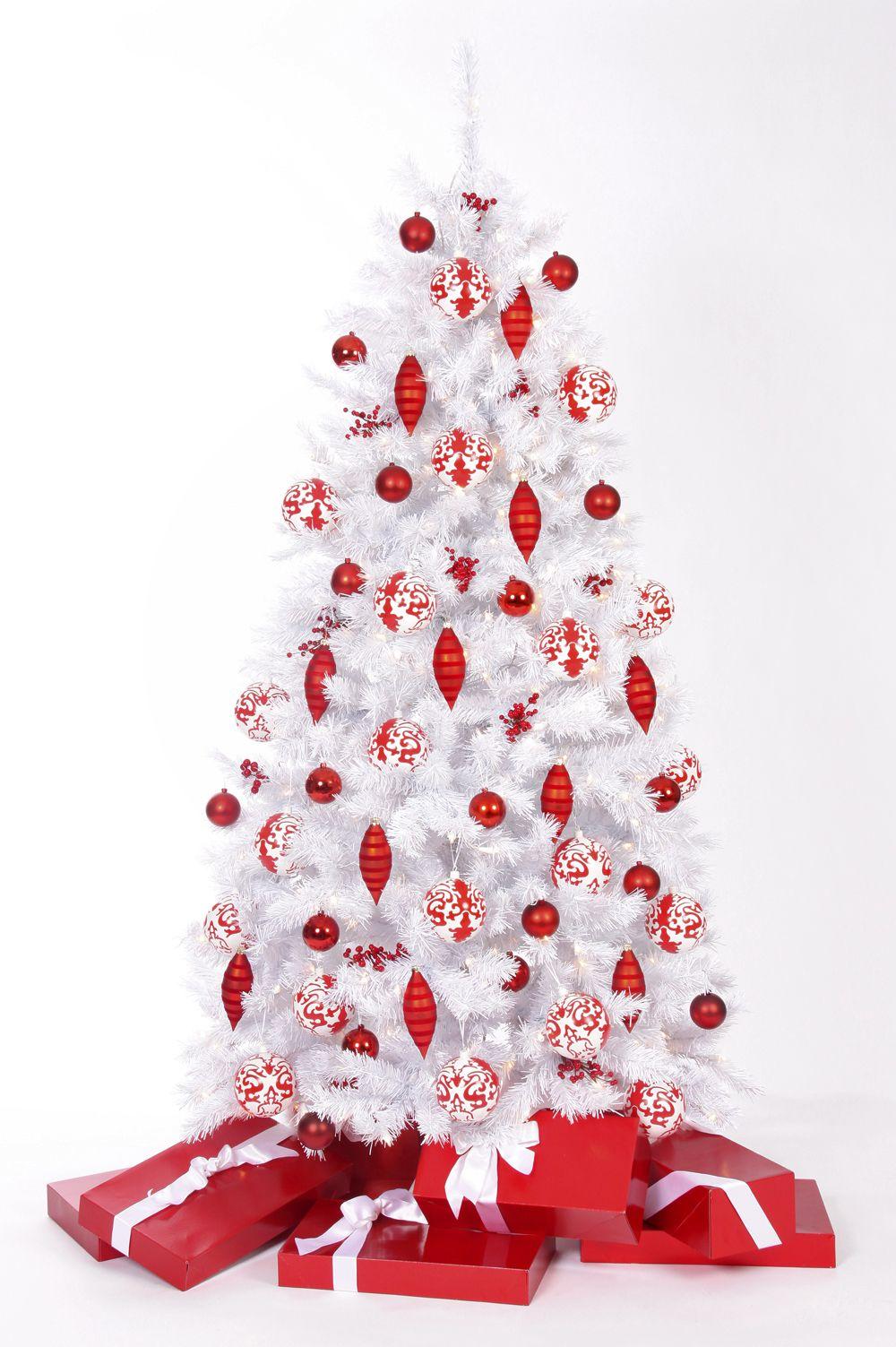 Winter White Christmas Tree | Christmas | Pinterest | Christmas tree ...