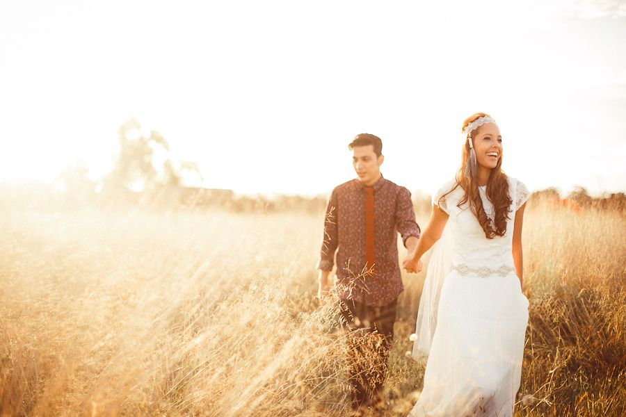 A Dreamy Vineyard Engagement Session Isaac and