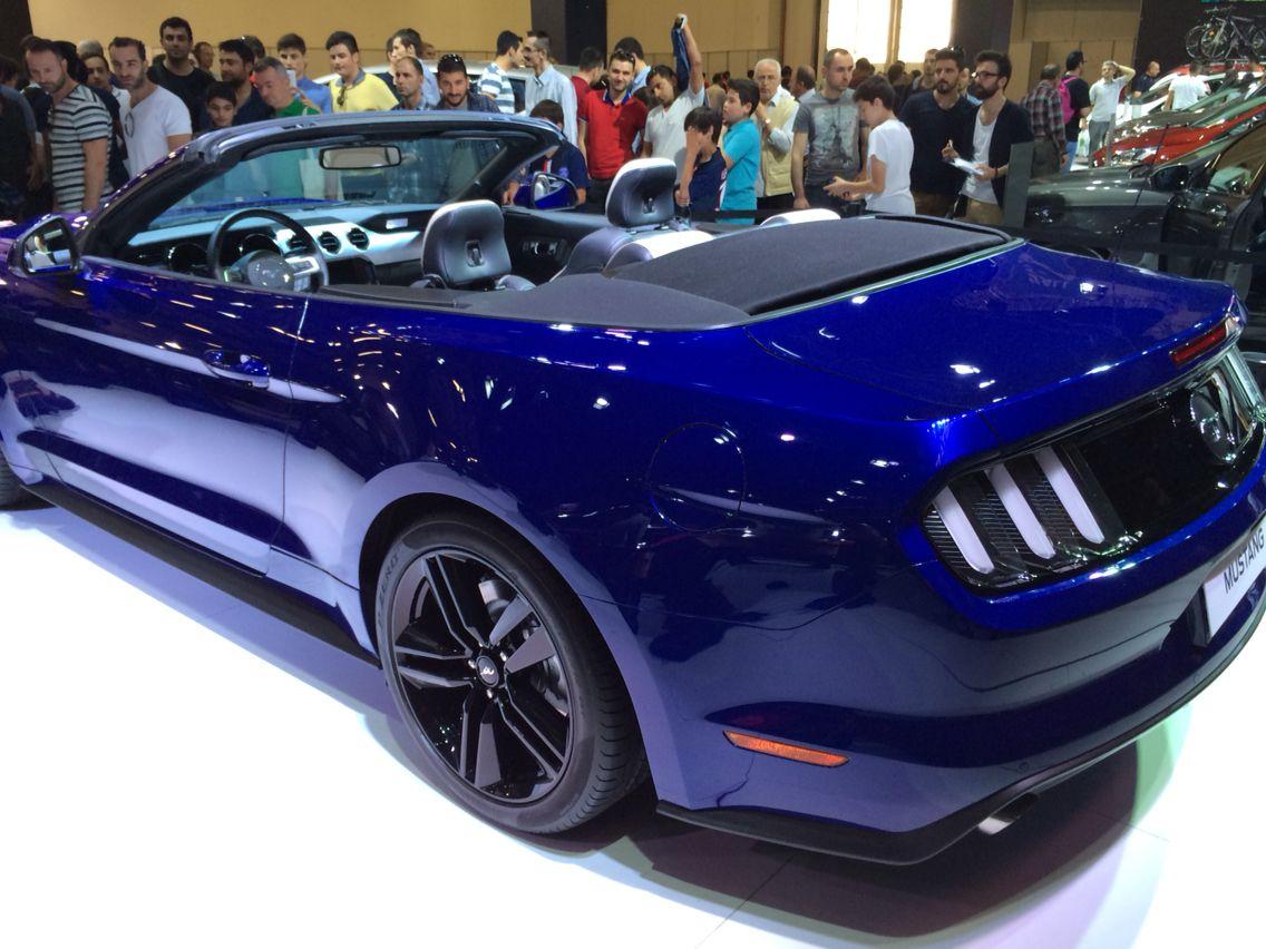 Ford Mustang Cabriolet EU Version