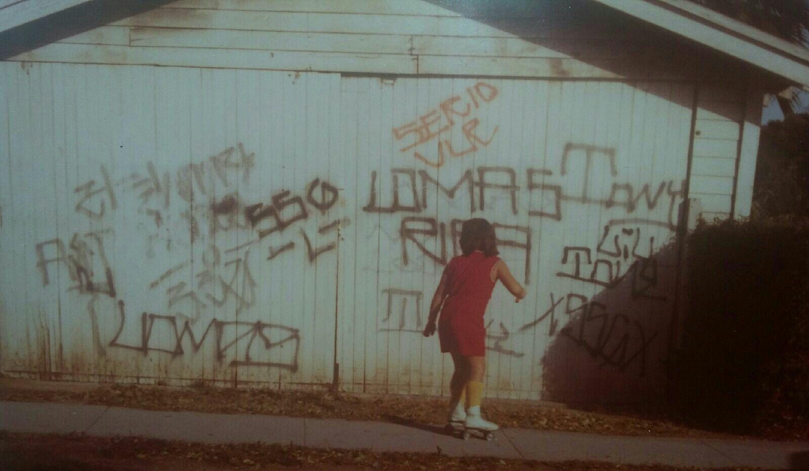 Lomas South San Gabriel Graffiti