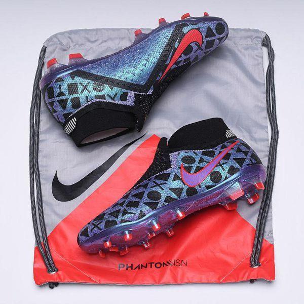 2b05be4c99726 Nike Phantom Vision Elite DF FG EA Sports - White Black Bright Crimson