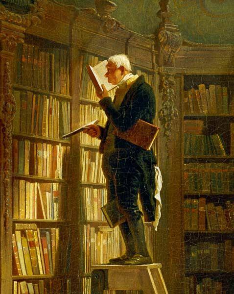 """Carl Spitgerl """"El devorador de libros"""""""