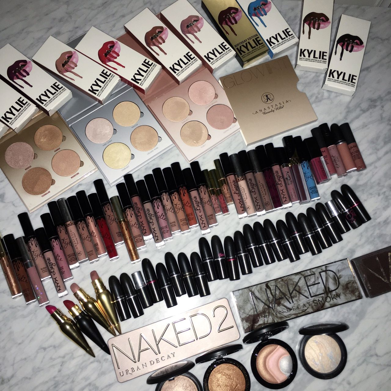 slave2beauty on instagram Makeup collection goals