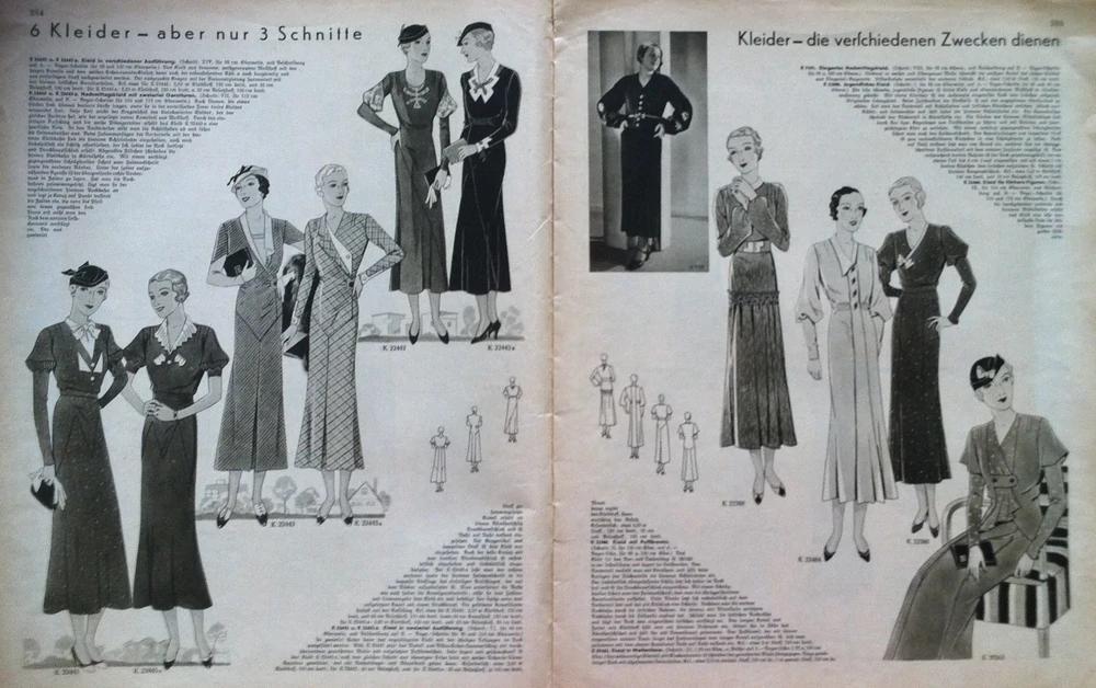 Deutsche ModenZeitung No. 11 Vol. 42 1932/33 Vintage