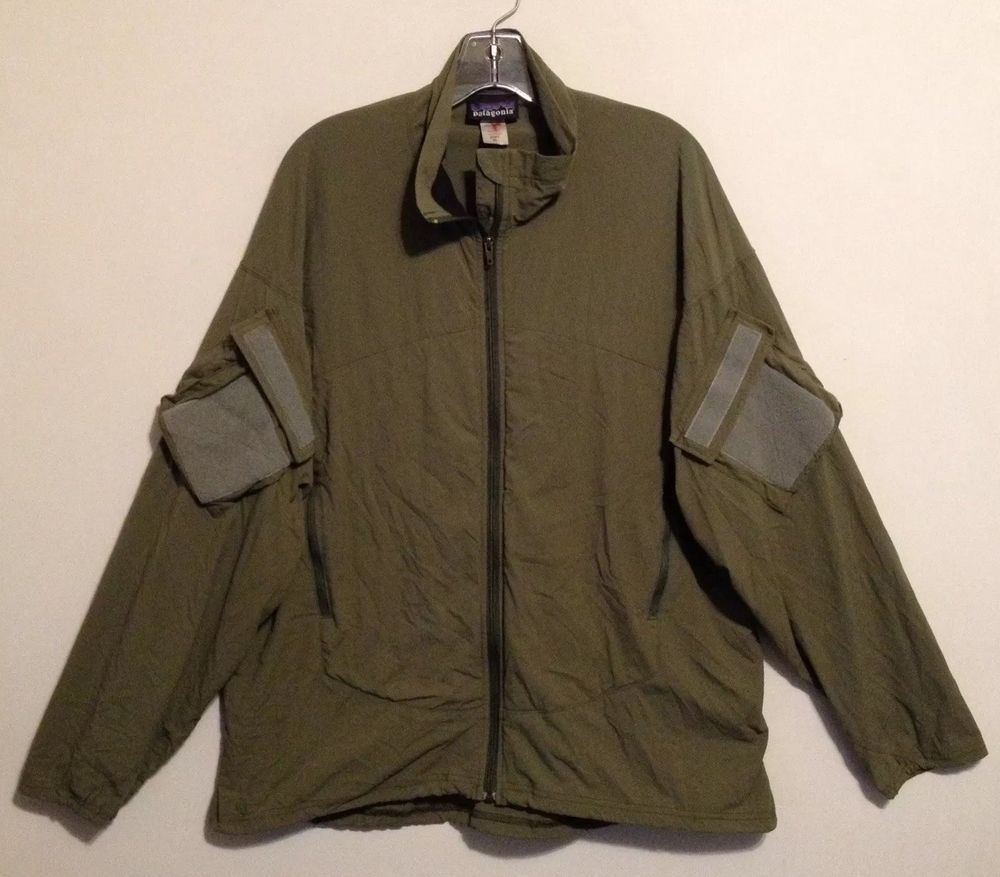 88e3eb0e1 Patagonia Men s Green Soft Shell Military Zip Front Jacket XL Made in USA   fashion  clothing  shoes  accessories  mensclothing  coatsjackets (ebay  link)