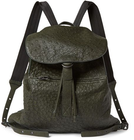 79c5370574 Bottega Veneta Ostrich Backpack
