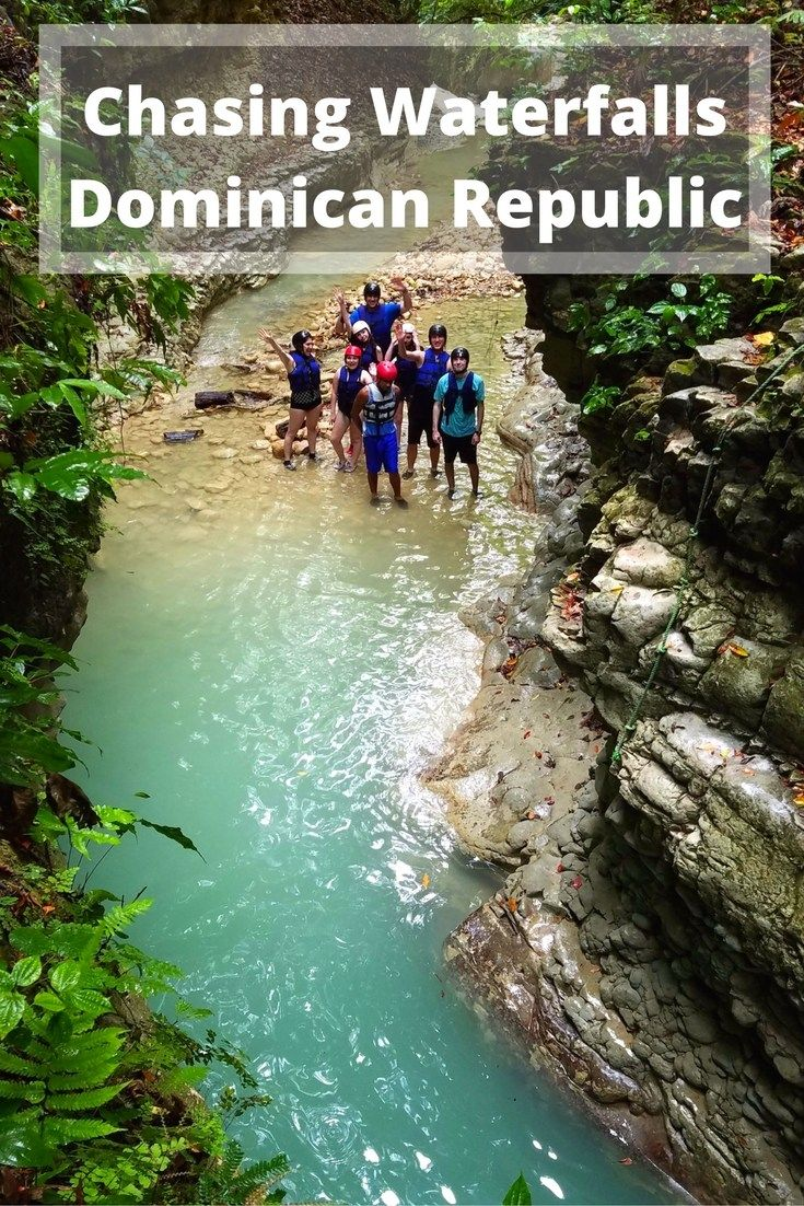 7 waterfalls in the dominican republic - our best day | roarloud top