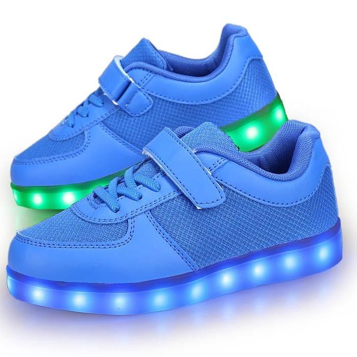 nike enfant garcon chaussure bleue