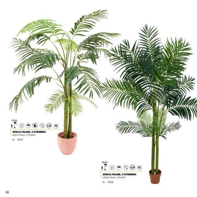 Flores plantas y arboles artificiales palmeras for Palmeras de exterior