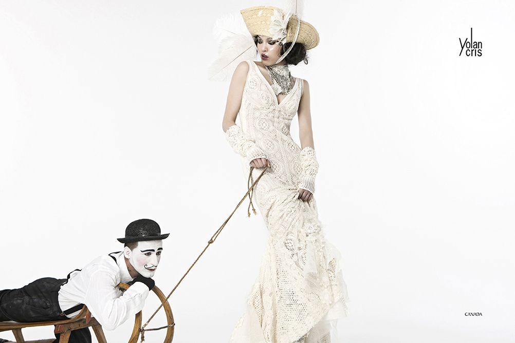 CANADA YolanCris bridal gown | Dresses | Pinterest | Bridal gowns ...