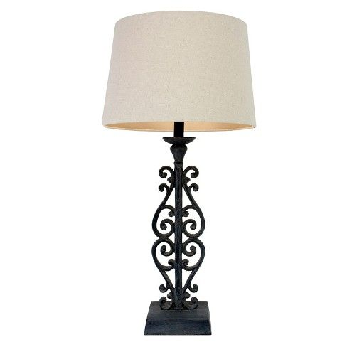 Pin By Andrea On Decor Living Room Black Table Lamps Table