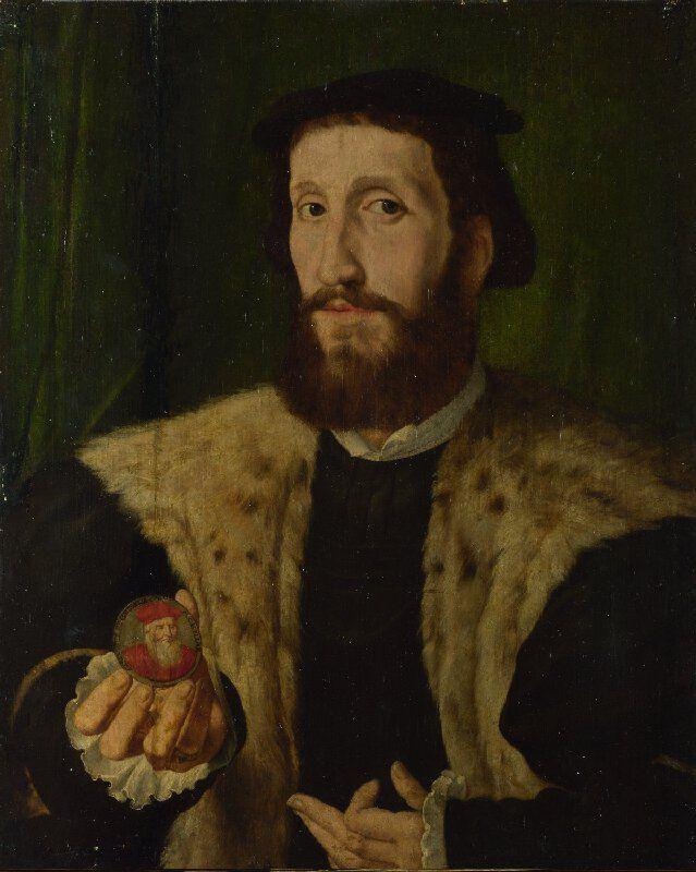 Portrait of a Man (Alfonso de Valdés?)