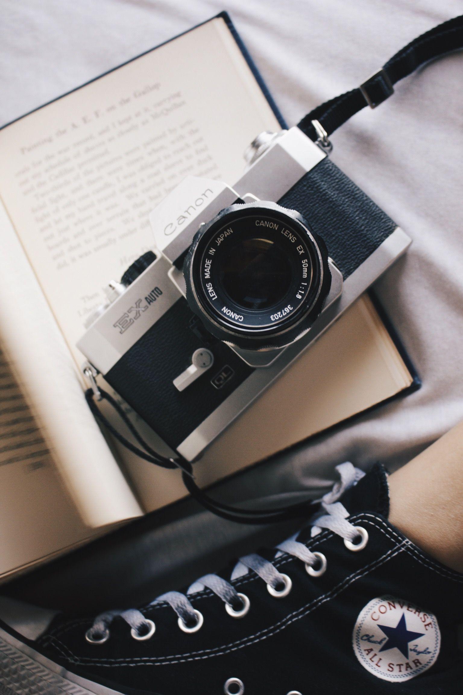 Film camera, canon, Aesthetic, photography camerascanon
