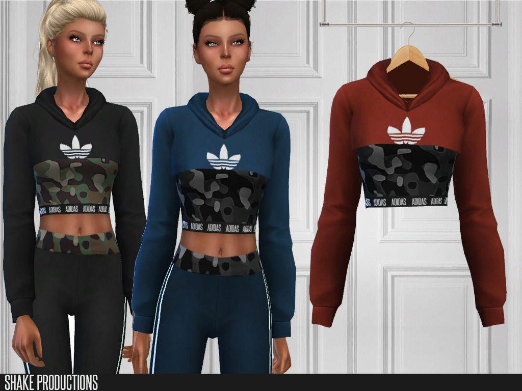adidas hoodie sims 4