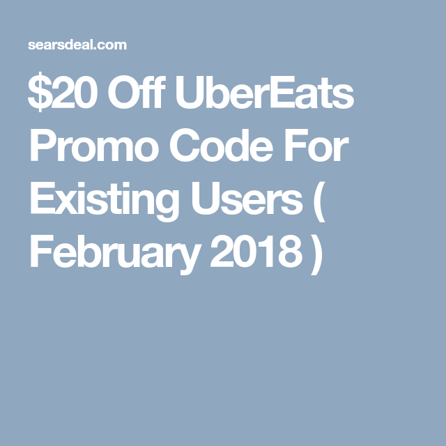 $50 Ubereats Promo Code For Existing Users (Sept   2019