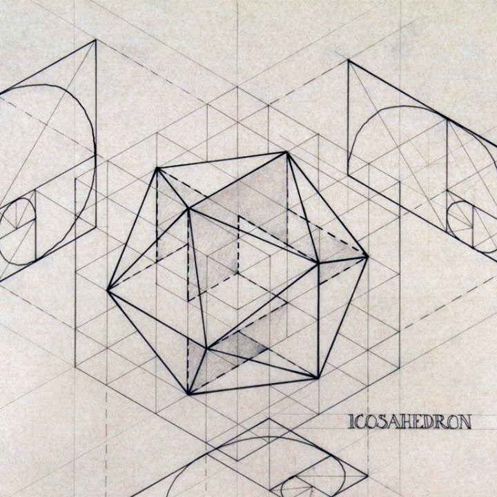 Beautiful Geometric Drawings by Rafael Araujo  immagini