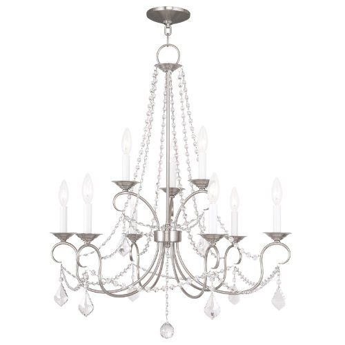 Livex Lighting 651991 Pennington 9 Light Chandelier Brushed Nickel Read More Reviews Of The Product By Visiting Link On Image It Is An