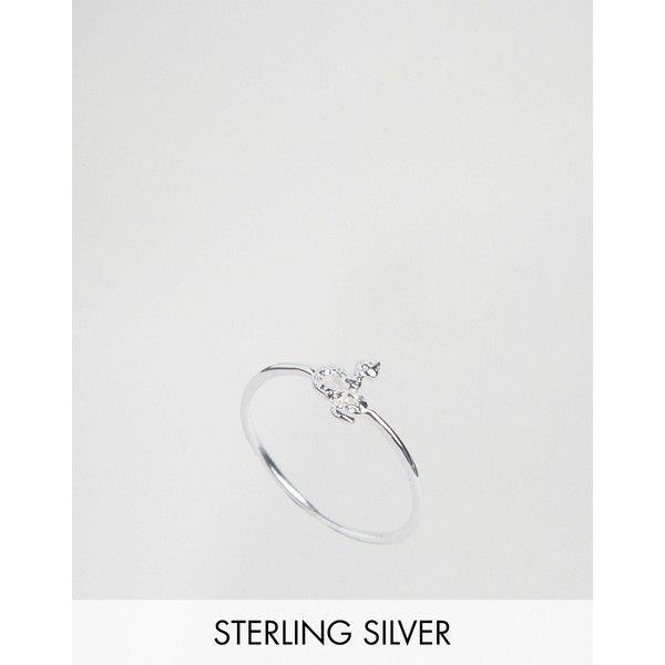 Reclaimed Vintage Sterling Silver Snake Ring ($33) ❤ liked on Polyvore featuring jewelry, rings, silver, anaconda jewelry, snake rings, sterling silver jewellery, reclaimed vintage and sterling silver jewelry