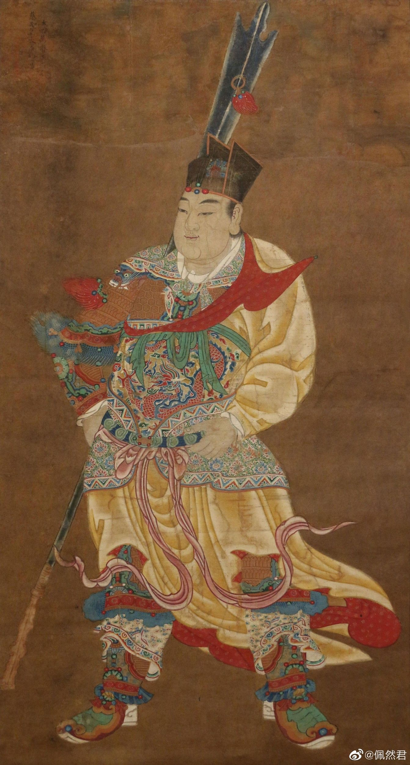 chinese ming dynasty painting 明代的赵二郎形象zhuanlan zhihu com p 52468491 chinese art chinese artwork asian art